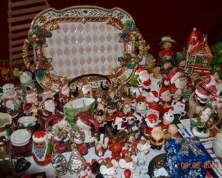Christmas decor- Fitz and Floyd
