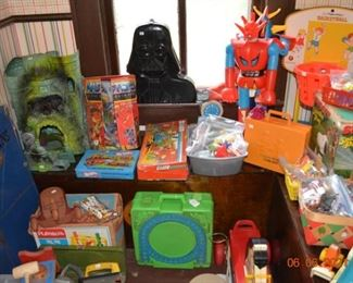 Vintage Masters of the Universe- Star Wars- Transformers- Toddler Toys