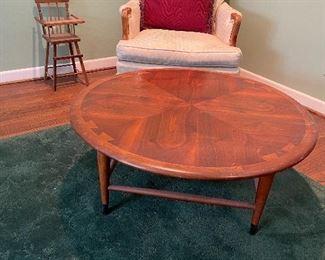 Lane mid century table