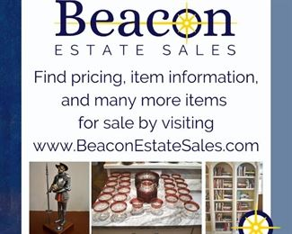 Find pricing, item information and more items for sale at beaconestatesales.com/sale013.