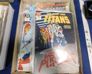 DC Titans comic books