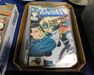 The Punisher Marvel comic books
