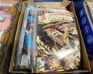 DC Superman comic books