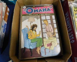 Omaha comic books