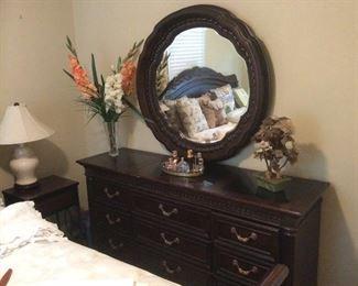matching dresser and mirror