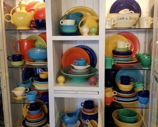 Tons of Vintage Fiesta Ware - 179 Pieces