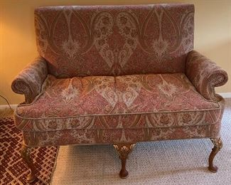 FRENCH STYLE SOFA ROLLED ARMS BY STONELEIGH