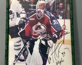 Patrick Roy Autographed Picture