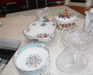 French porcelain pieces