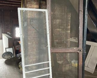 Screen doors and windows from BG historic home