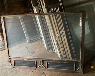Antique windows from BG home built in 1892!