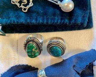 Sterling turquoise