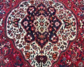 Vintage Handmade Persian Wool Room Size Rug