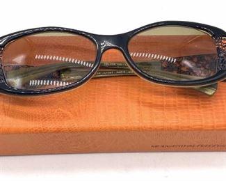 JEAN LAFONT French Filigree Glasses Frames, Case