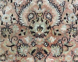 Silk & Wool Oriental Area Rug
