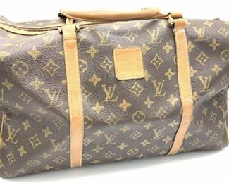 LOUIS VUITTON Top Handle Duffle Bag