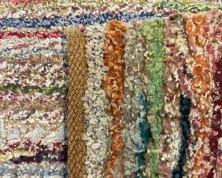 Vintage Handmade Room Size Wool Rug