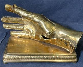 Gold on Metal Proposal Sculpture