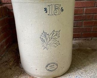 Western Stoneware Co. No 15 Pickle Jar