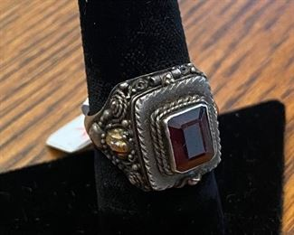 Sterling Poison Ring