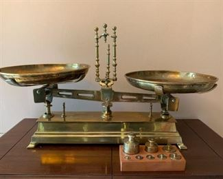 Solid Brass Scale