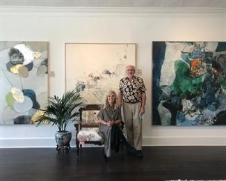 Welcome to Chicago Fine Art  in Florida!                               Barbara & Nicholas