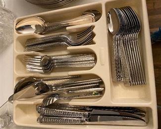 Waterford stainless steel flatware
