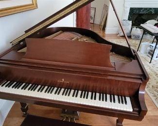 Steinway & Son's Baby Grand Piano Model 346151 S