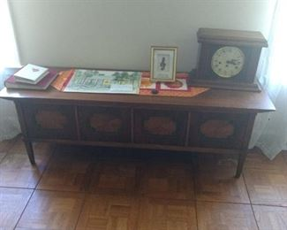 Lane hope chest 58 inches wide x 17 inches deep x 20 inches tall