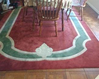 8 feet x 10 feet 8 inches rug