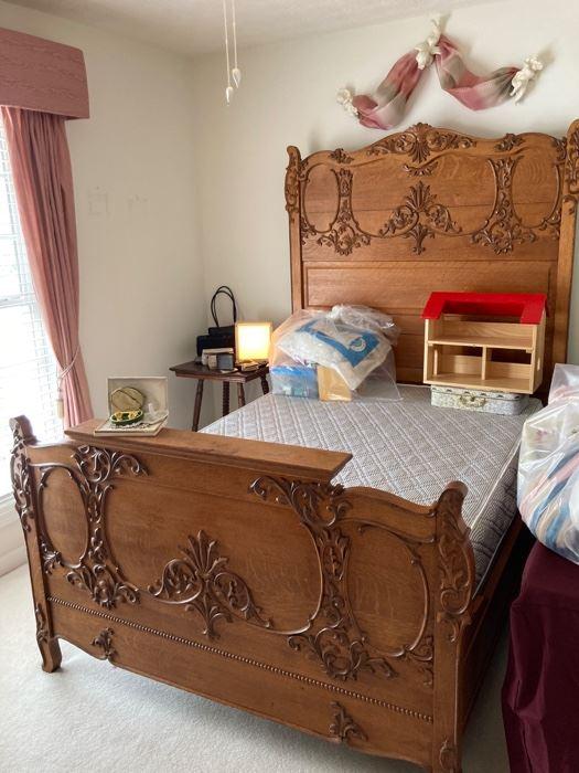 Gorgeous Antique Bed