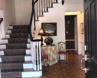 Items In Entry Foyer