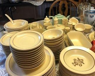Lifetime stoneware place set
