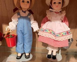 Effanbee Jack & Jill dolls