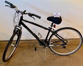 Lot 8222  $175.00  Diamondback Edgewood 10 Speed Mens Hybrid Bicycle w/ Shimano components and STA Tru Wheels.