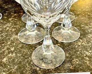 Lot 8226  $35.00. 5 Schott-Zwiesel Wine Glasses