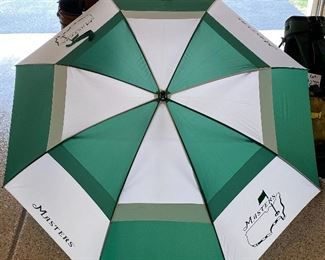 Lot 8270. $350.00. The Masters Carry Golf Bag with Stand and The Masters Umbrella, bought at the Masters Tournament in Augusta, Georgia.  We couldn't find another on all of the Internet like this one.