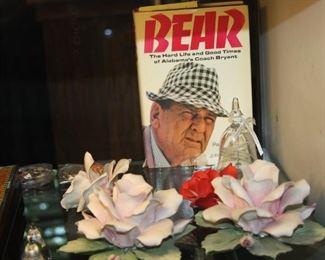 signed Bear Bryant book