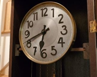 Early 1800's Handcrafted Grandfather Clock