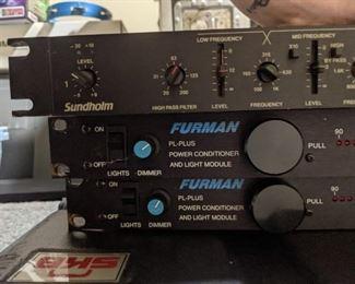 Furman PL-Plus Power conditioner and Light module Sundholm