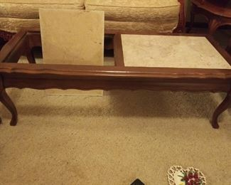 Portuguese Marble Coffee Table