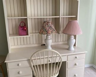 Beautiful Cottage style desk and chair
