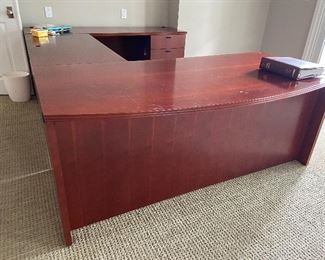 Huge and gorgeous office desk! Feel like a millionaire!  Client paid $2000, asking $425