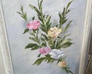 Gram's Original painting signed on back $75