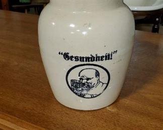 German Beer Pitcher