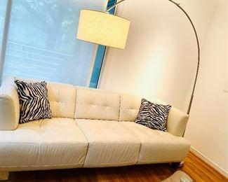 100% Genuine Leather Sofa - VERY COMFORTABLE!!
