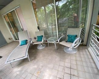High End Tropitone patio furniture