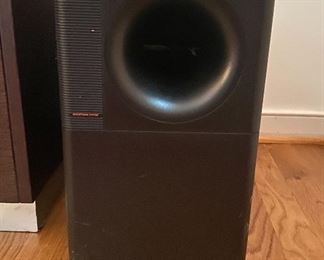 Bose system with 2 additional speakers