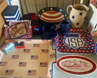 Patriotic Decor, 4th of July is on the way!
