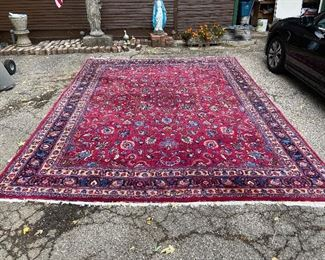 About 10' x 15' Persian Carpet very little wear for its age.